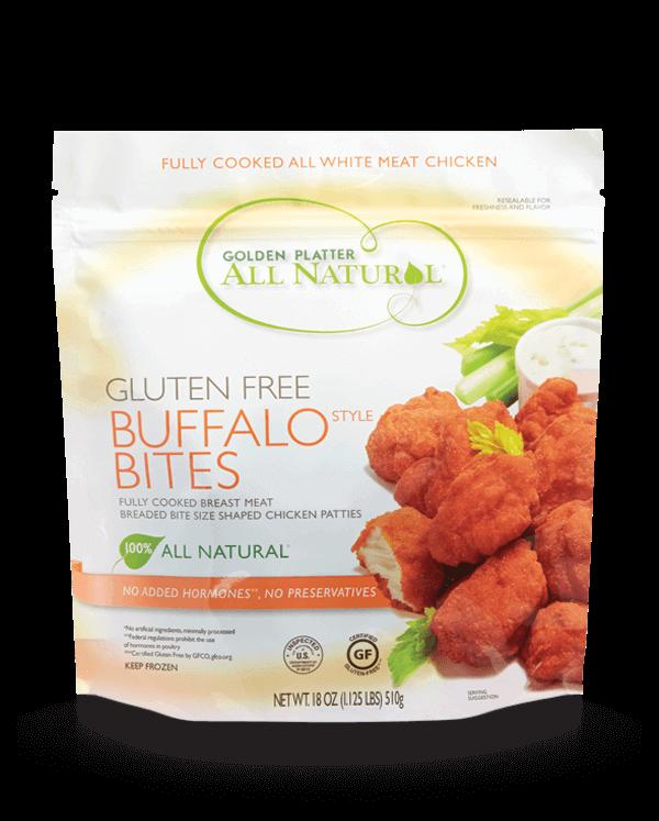 Gluten Free Buffalo Bites
